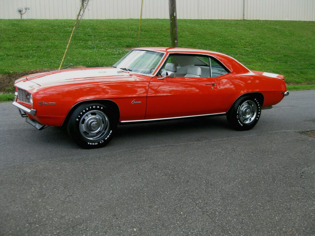 nicely restored 1969 Chevrolet Camaro Z/28
