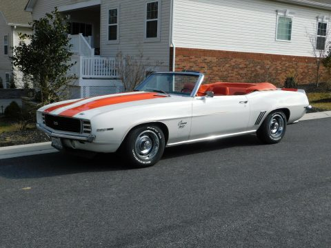 perfect 1969 Chevrolet Camaro RS SS Convertible for sale