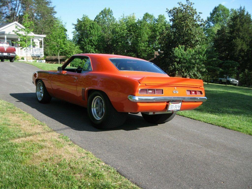 pro street 1969 Chevrolet Camaro