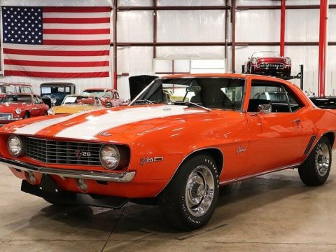 restored 1969 Chevrolet Camaro Z/28 for sale