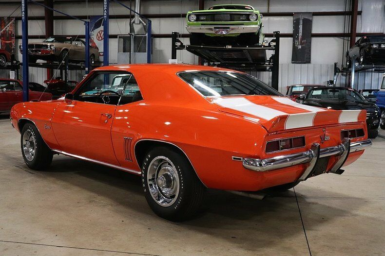 restored 1969 Chevrolet Camaro Z/28