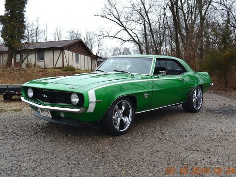 sharp 1969 Chevrolet Camaro SS 396 for sale