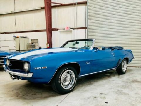 upgraded intake 1969 Chevrolet Camaro Convertible for sale