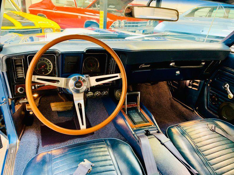upgraded intake 1969 Chevrolet Camaro Convertible