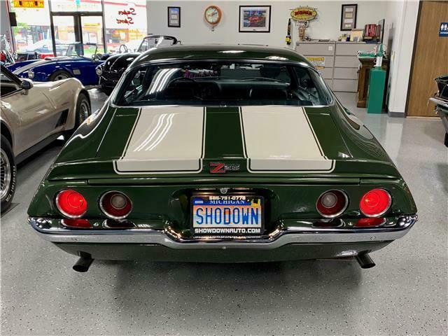 4 on the floor 1970 Chevrolet Camaro