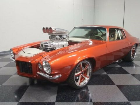 badass beast 1970 Chevrolet Camaro RS Pro Street for sale