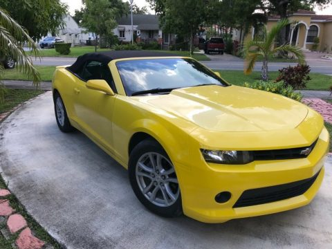 well serviced 2015 Chevrolet Camaro LT Convertible for sale