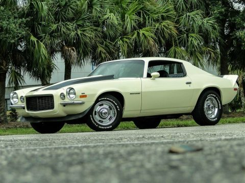 low miles 1971 Chevrolet Camaro Rally Sport RS for sale