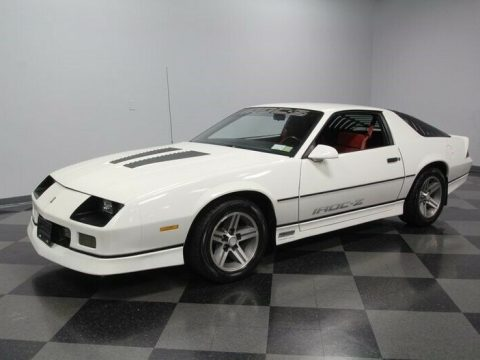 clean 1985 Chevrolet Camaro IROC Z for sale