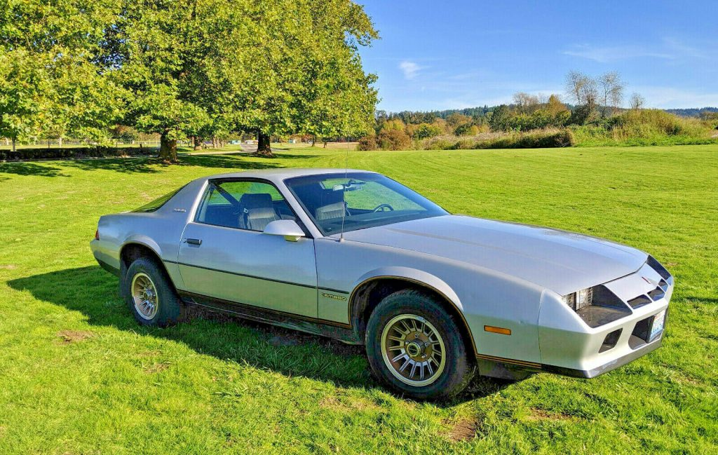 garaged 1982 Chevrolet Camaro