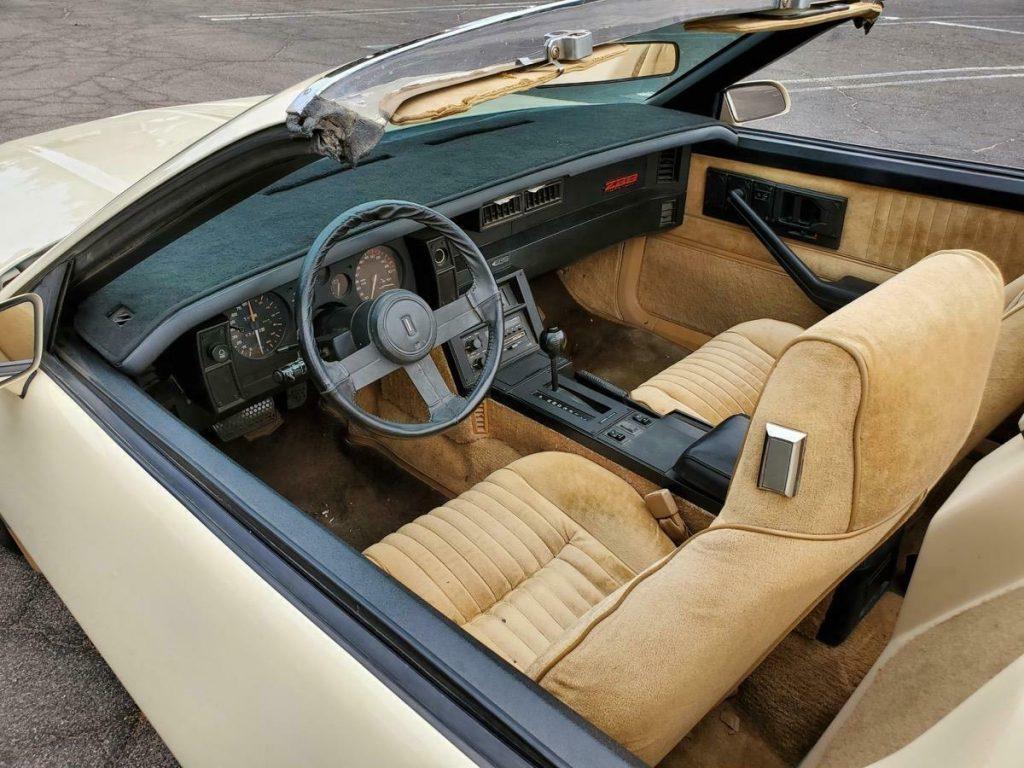 rare 1983 Chevrolet Camaro Z28 Autoform Speedster
