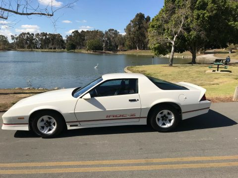 low miles 1989 Chevrolet Camaro ca Special edition for sale