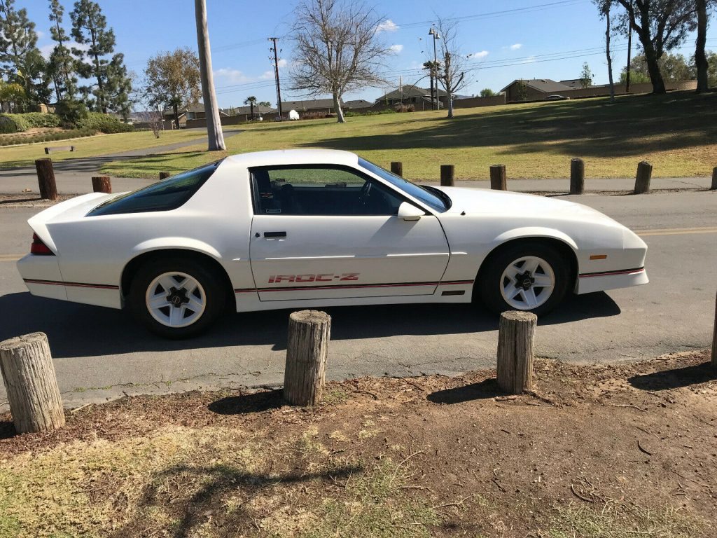 low miles 1989 Chevrolet Camaro ca Special edition