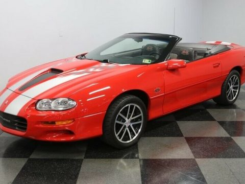 beautiful 2002 Chevrolet Camaro SS 35TH Anniversary SLP Edition for sale