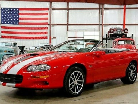 beautiful 2002 Chevrolet Camaro Z/28 SS for sale