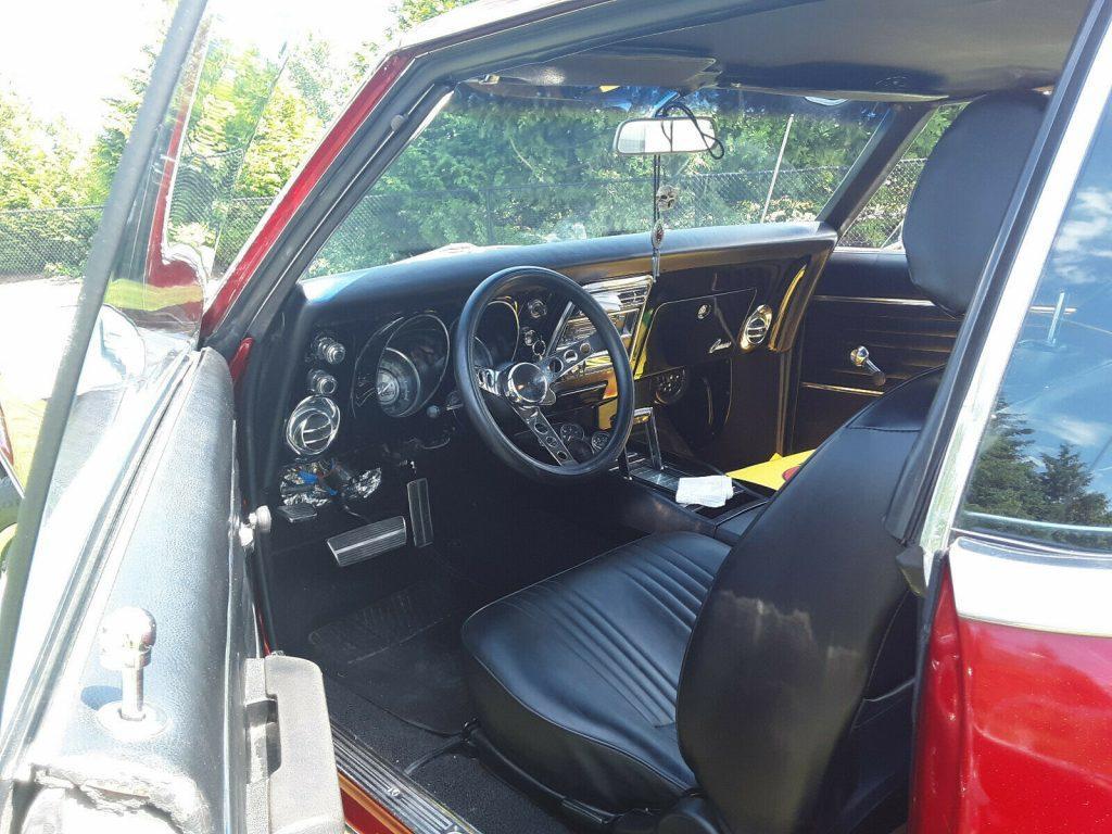 base 1968 Chevrolet Camaro