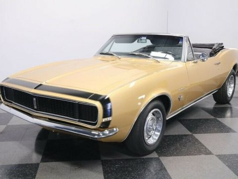 original color 1967 Chevrolet Camaro RS Convertible for sale