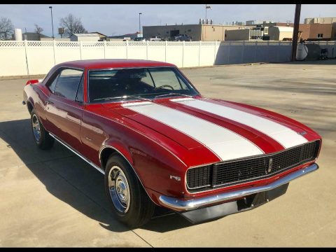 restored 1967 Chevrolet Camaro 2dr Coupe Z28 for sale