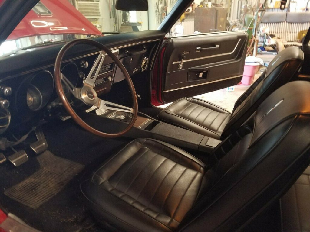 restored 1968 Chevrolet Camaro