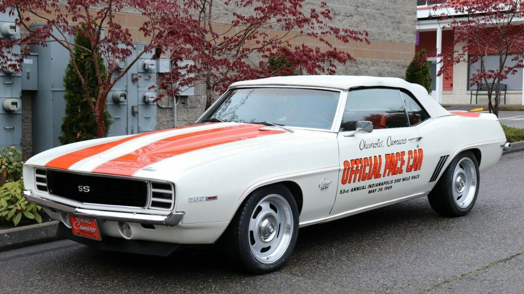 amazing 1969 Chevrolet Camaro Indy 500 Pace Car Pro Touring Convertible