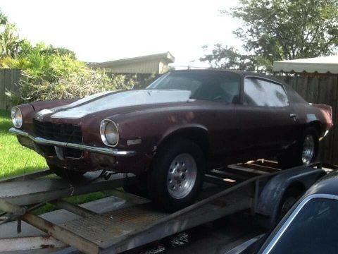 no engine 1971 Chevrolet Camaro for sale