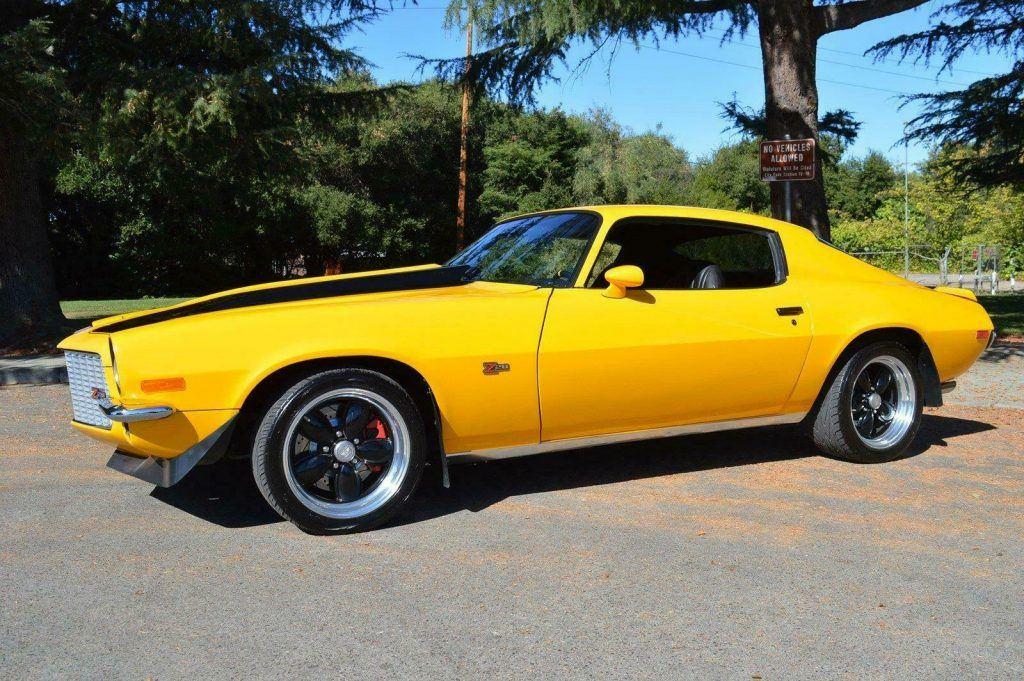 restomod 1973 Chevrolet Camaro Z28