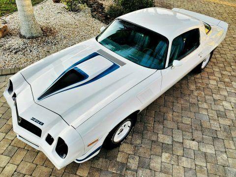restored 1979 Chevrolet Camaro Z28 for sale