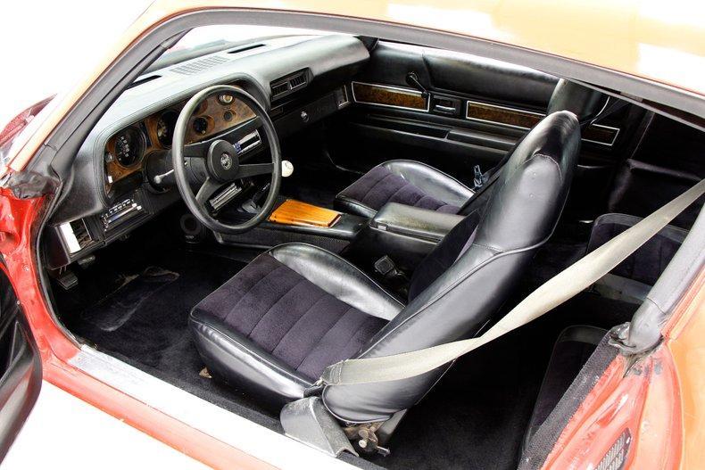 small block 1977 Chevrolet Camaro Z28